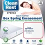 CleanRest Pro Bed Bug Box Spring Cover Package