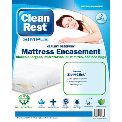cleanrest simple mattress encasement - Mattress Encasement