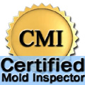 Certified Mold Inspector Badge | test for mold