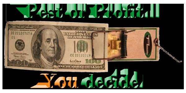 Pest or Profit...You decide. © Titanium Laboratories | Commercial Pest Management