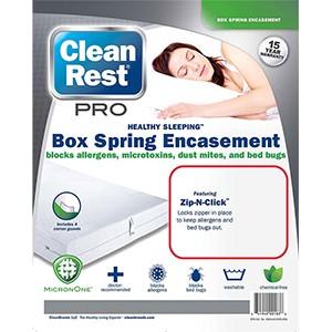 CleanRest Pro Box Spring Encasement 300x300