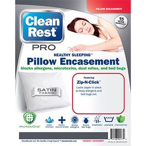 CleanRest Pro Pillow Encasement 300x300